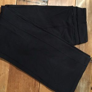 Lululemon black bootcut yoga pants